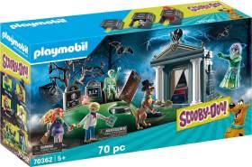 Playmobil SCOOBY-DOO! 70362 'Abenteuer auf dem Friedhof', 70 Teile, ab 5 Jahren