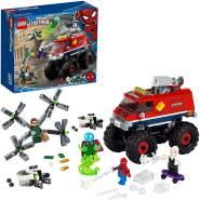 LEGO Marvel Spiderman 76174 'Spider-Mans Monstertruck vs. Mysterio', 439 Teile, ab 8 Jahren