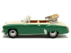 Minichamps - Wartburg A 312 Convertible 1958 creme/grün