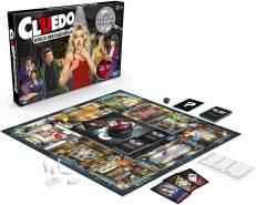 Hasbro Gaming 'Cluedo - Mogeln und Mauscheln' Brettspiel, Detektivspiel, ab 8 Jahren, 2-6 Spieler, inkl. Mogel-Button, um unehrliche Mitspieler zu entlarven