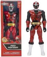 Bandai Power Ranger Rot Ninja Steel bewegliche Action-Figur 30 cm für Jungen