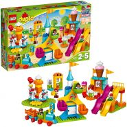 LEGO DUPLO 10840 'Großer Jahrmarkt', 106 Teile, ab 2 Jahren