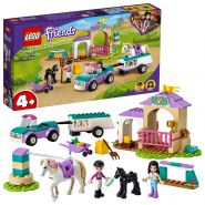LEGO Friends 41441 'Trainingskoppel und Pferdeanhänger', 148 Teile, ab 4 Jahren