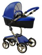 Mima Xari Design Kinderwagen Kollektion 2021 Champagner Royal Blue