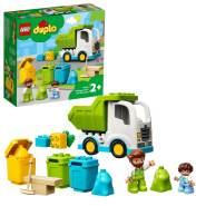 LEGO DUPLO 10945 'Müllabfuhr und Wertstoffhof', 19 Teile, ab 2 Jahren