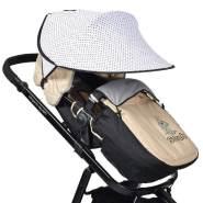 Cangaroo Universal Sonnenschutz für den Kinderwagen Gepunktet
