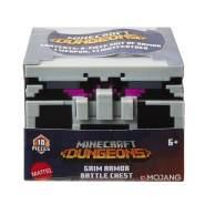 Mattel GNM31 - Minecraft Dungeons Battle Chest - für 8 cm Figuren, sortiert, zufällige Auswahl