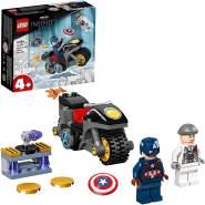 LEGO Marvel Super Heroes 76189 'Duell zwischen Captain America und Hydra', 49 Teile, ab 4 Jahren