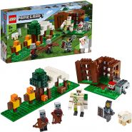 LEGO Minecraft 21159 'Der Plünderer Außenposten', 303 Teile, ab 8 Jahren