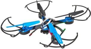 Revell Control RC VR Quadrocopter mit FPV Kamera und VR-Brille, Live-Übertragung über WiFi, Video-Stream aufs eigene Smartphone, ferngesteuert mit 2,4 GHz Fernsteuerung, Wechsel-Akku, VR SHOT 23908