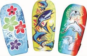 VEDES Bodyboard Waves, L 102 cm - 1x Stück, zufällige Farbauswahl