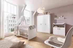 Schardt 'Classic White' 3-tlg. Babyzimmer-Set