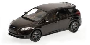 Minichamps 'FORD FOCUS ST - 2011', schwarz metallic, Maßstab 1:43