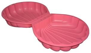 BIG 'Sand- / Watershell' Sandkasten / Planschbecken, 88 x 88 x 21 cm, ab 1,5 Jahren, pink