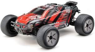 Absima 'RC Car Truggy 1:10 RTR' Ferngesteuertes Auto, ab 14 Jahren, rot/grau/schwarz