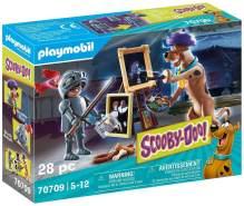 Playmobil SCOOBY-DOO! 70709 'Abenteuer mit Black Knight', 28 Teile, ab 5 Jahren