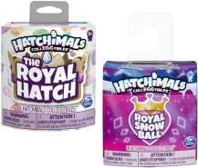 Hatchimals 6047179 - CollEGGtibles Royal Einzelpack mit Zubehör, 2 Design - Varianten möglich