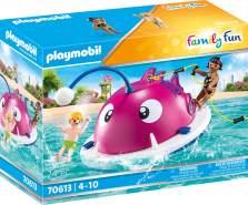 Playmobil Family Fun 70613 'Kletter-Schwimminsel', 24 Teile, ab 4 Jahren