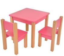 Mobi Furniture 'Mario' Kindersitzgruppe Buche rosa