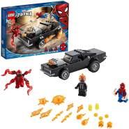 LEGO Marvel Spiderman 76173 'Spider-Man und Ghost Rider vs. Carnage', 212 Teile, ab 7 Jahren