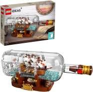 LEGO® Ideas 92177 'Schiff in der Flasche', 962 Teile, ab 12 Jahren