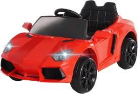 Actionbikes Motors 'Super Sport' Kinder-Elektroauto, rot, mit vielen Funktionen und Features, inkl. Fernbedienung, ab 3 Jahren