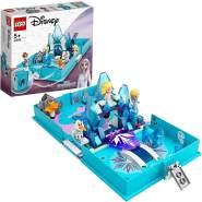 LEGO Disney Die Eiskönigin 2 43189 'Elsas Märchenbuch', 125 Teile, ab 5 Jahren, Set in einem aufklappbaren Buch, Frozen 2