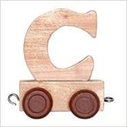 Bino Buchstaben Geburtstagszug - Anhänger C