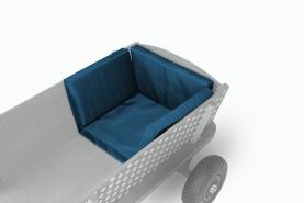 Beachtrekker Sitzkissen für Bollerwagen in Blau