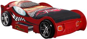 Vipack 'Turbo Racing' Autobett Rot 90x200