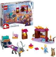 LEGO Disney Die Eiskönigin 2 41166 'Elsa und die Rentierkutsche', 116 Teile, ab 4 Jahren