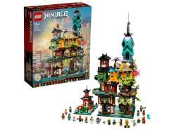 LEGO NINJAGO 71741 'Die Gärten von NINJAGO® City', 5685 Teile, ab 14 Jahren