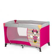 Disney Reisebett 'Dream and Play Mickey & Minnie' pink