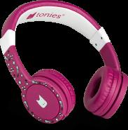 Tonies 'Tonie-Lauscher' Beere, Kinder-Kopfhörer passend zur Toniebox, Lautstärke reguliert, abnehmbares Kabel, größenverstellbar, bewegliche Ohrmuscheln