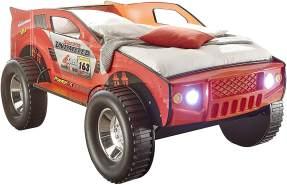Bega 'SUV' Autobett rot, 90x200 cm, inkl. Beleuchtung