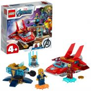 LEGO® Marvel 76170 'Iron Man vs. Thanos', 103 Teile, ab 4 Jahren
