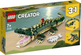 LEGO Creator 3-in-1 31121 'Krokodil', 454 Teile, ab 7 Jahren