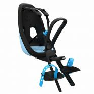 Thule 'Yepp Nexxt Mini' Front-Kinderfahrradsitz blau, bis 15 kg, inkl. Rahmenhalterung