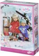 Zapf Creation 828472 'BABY born Adventskalender' mit 24 Kleidungs- und Accessoire-Überraschungen für BABY born, Puppenzubehör 43 cm