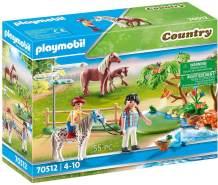 Playmobil Country 70512 'Fröhlicher Ponyausflug', 55 Teile, ab 4 Jahren