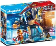 Playmobil City Action 70571 'Polizei-Roboter: Spezialeinsatz', 50 Teile, ab 4 Jahren