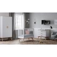 Vox 3-tlg. Babyzimmer-Set natur/weiß