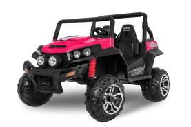 Kidcars Kinder Elektroauto Golfcart 2x105W Pink