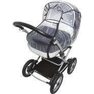 Fillikid Regenschutz Buggy, Kinderwagen, transparent