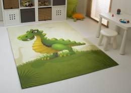 Steffensmeier Kinderteppich 'Jurassic Family - Rexi' 80x150 cm