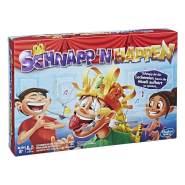 Hasbro 'Schnapp n Happen' Geschicklichkeitsspiel, Familienspiel, ab 8 Jahren, 2+ Spieler (E2420100)