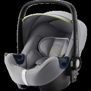 Britax Römer 'Baby-Safe 2 i-Size Cool Flow' Babyschale 2020 Silver Gruppe 0+, mit Base