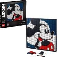 LEGO ART 31202 'Disney's Mickey Mouse', 2658 Teile, ab 18 Jahren, 2-in-1-Set mit zwei möglichen Wandmosaiken