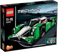 LEGO Technic 42039 'Langstrecken-Rennwagen', 1219 Teile, ab 11 Jahren, robustes, detailgetreues Modell, 2-in-1 Funktion, lässt sich in Rallye-SUV umbauen
