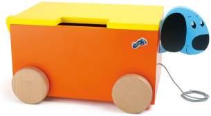 Small Foot 1213 Spielzeugkiste Spielbox Hund